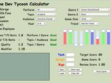 Game Dev Tycoon Kalkulator