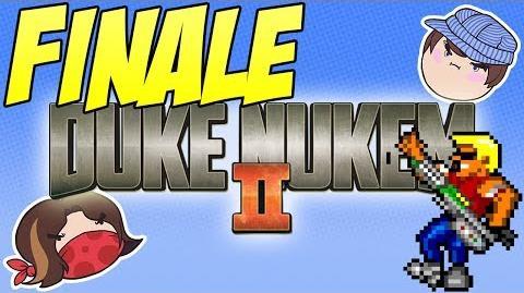 Duke Nukem II Finale - PART 11 - Steam Train