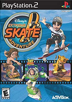 Disney's Extreme Skate Adventure PS2 Cover.png