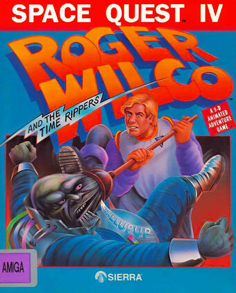 Space Quest Iv Roger Wilco And The Time Rippers Game Grumps Wiki Fandom