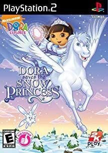 Dora Saves the Snow Princess PS2 Cover.jpg