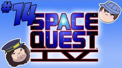 Space Quest IV Tunnel of Love - PART 14 - Steam Train