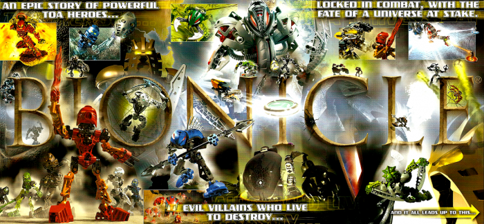 Bionicle - Legend of the Three Virtues
