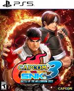 Capcom vs. SNK 3 - Battle of the Millennium 2022 - Box Art (PS5)