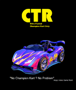 CTR Nitro Fueled Champion Kart Only