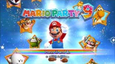 All Mario Party Title Screens Music (1 - 9, Advance, DS)