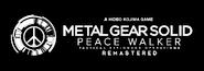 Metal Gear Solid- Peace Walker -Remastered- Logo (Jikanet)