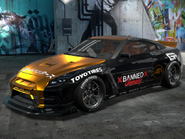 NFS ProStreet 2 - Nissan GT-R Premium (Banned Community)