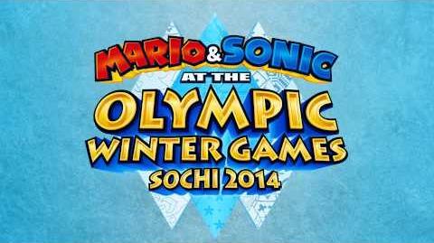 Blizzard Peaks (Sonic Rush Adventure) - Mario & Sonic at the Sochi 2014 Olympic Winter Games