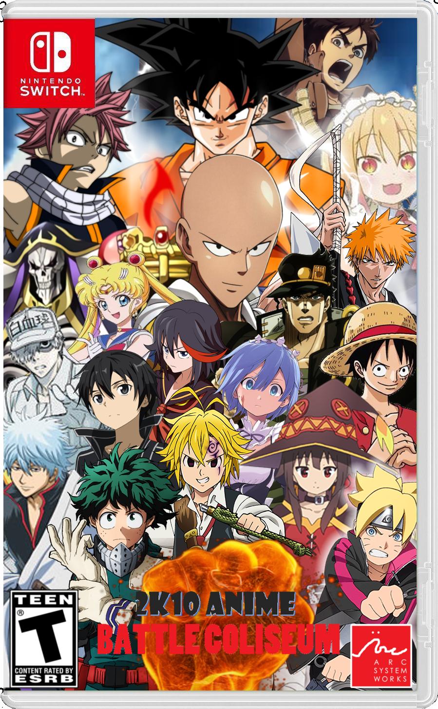 2K10 Anime Battle Coliseum