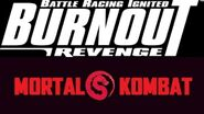 Burnout Revenge Mortal Kombat Edition