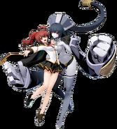Celica Ayatsuki Mercury (BlazBlue Cross Tag Battle, Character Select Artwork)
