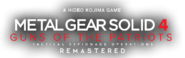 Metal Gear Solid 4 Guns of the Patriots -Remastered-