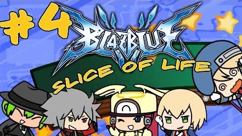 "Blazblue Slice of Life Episode 4 - ""Happy Anniversary Tsubaki-kins"""