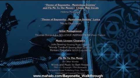 Bayonetta Walkthrough - The Ending Credits