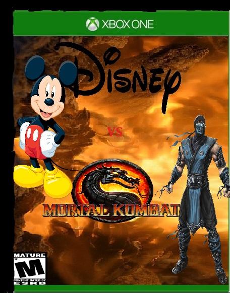 Disney vs Mortal Kombat