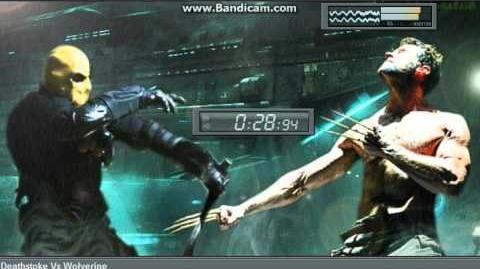 Deathstroke Vs Wolverine theme