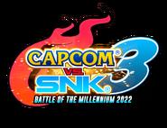 Capcom vs. SNK 3 - Battle of the Millennium 2022 - Logo