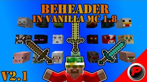 Beheader - Get EVERY Mobhead in Vanilla Minecraft One Command Creation v2