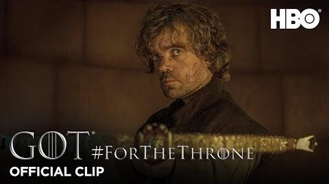"""""""Tyrion and Tywin"""" ForTheThrone Clip Game of Thrones Season 4"""