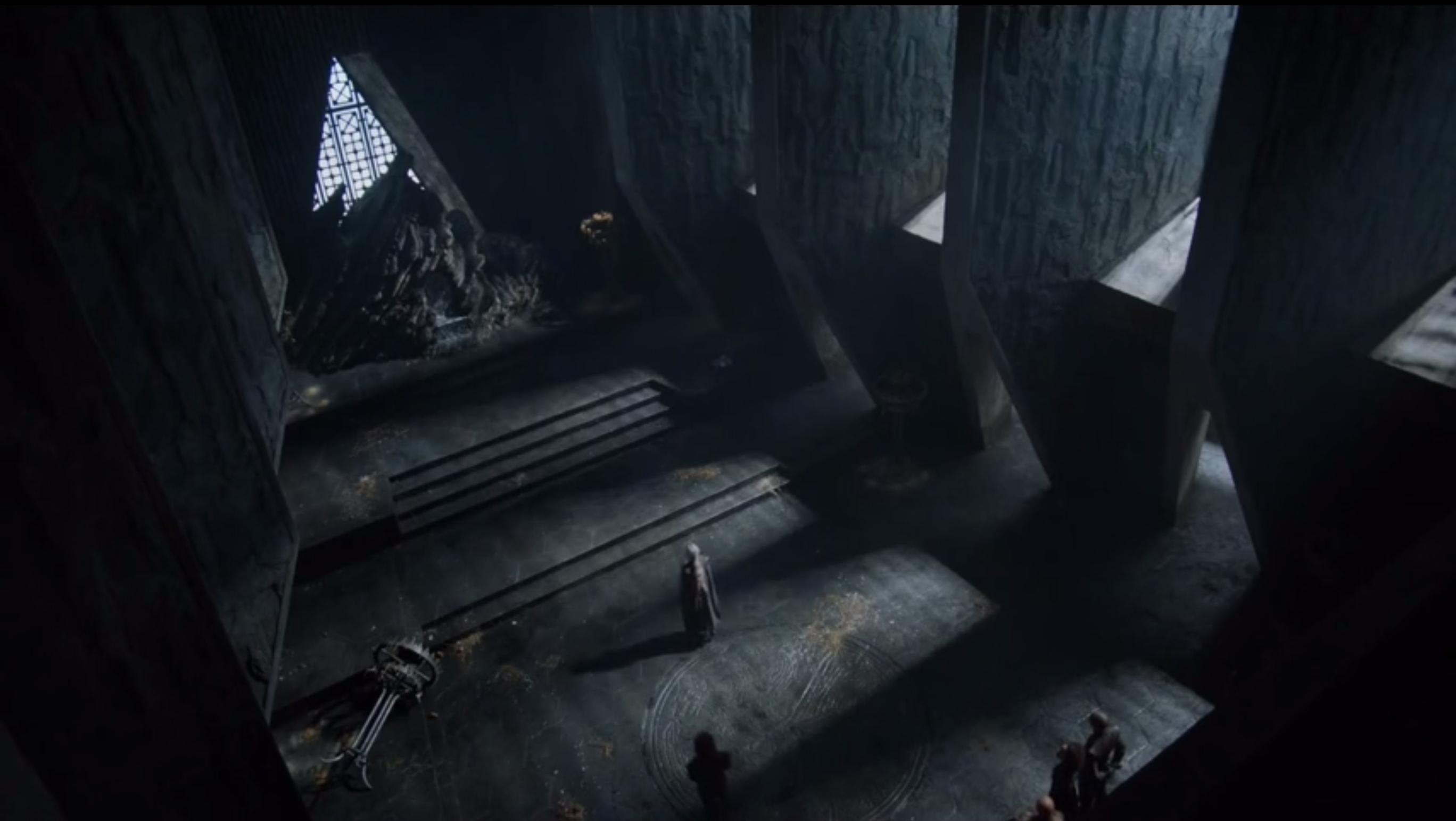 Abandonment of Dragonstone