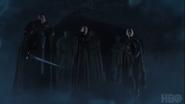 Season 8 promo image Jon Arya Brienne