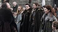 Família Stark e Robert