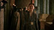 Sansa happy 2x10