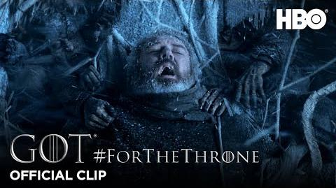 """""""Hold the Door"""" ForTheThrone Clip Game of Thrones Season 6"""