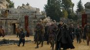 707 Tyrion Davos Brienne Podrick Jon Jorah Theon