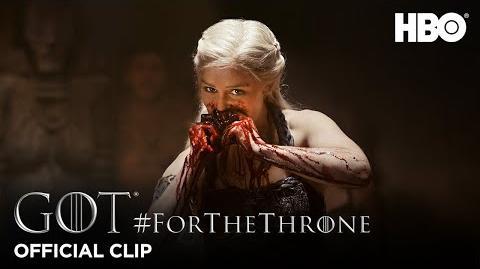 """""""Not a Queen, a Khaleesi"""" ForTheThrone Clip Game of Thrones Season 1"""