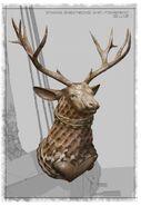 Stannis Barathon's Ship Figurehead Concept Art