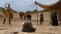 Sand Snakes torture with scorpions