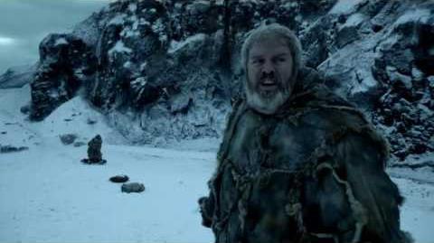 Game of Thrones Season 6 Hodor's Last Words (HBO)