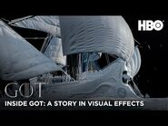 Inside Game of Thrones - A Story in Visual Effects - BTS