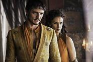 Pedro-Pascal-as-Oberyn-Martell-Indira-Varma-as-Ellaria-Sand photo-Helen-Sloan HBO