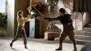 Arya Stark and Syrio Forel 1x03