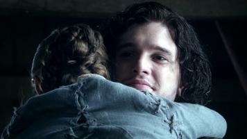 Jon Schnee und Arya Stark