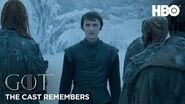 The Cast Remembers Isaac Hempstead Wright on Playing Bran Stark Game of Thrones Season 8 (HBO)
