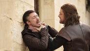 Littlefinger and Ned 1x03