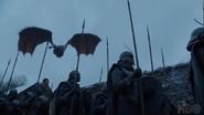Season 8 Drogon, Unsullied & Dothraki