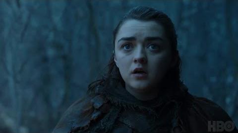 Game of Thrones- Season 7 Episode 2 Clip- Arya and Nymeria (HBO)