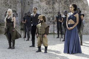 609 Daenerys Grauer Wurm Tyrion Missandei