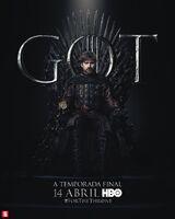 Poster S8 Jaime Lannister