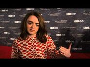 Maisie Williams Remembers the Fallen