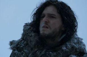 Jon in Wildlingskluft