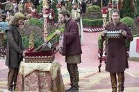 Музыканты на свадьбе Джоффри и Маргери 4x02