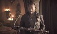 GoT Bronn crossbow Winterfell Ep s8