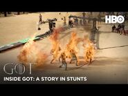 Inside Game of Thrones - A Story in Stunts - BTS