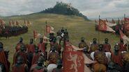 Lannister army reaches Highgarden s7